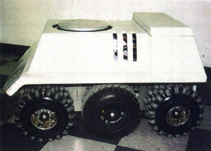The EZWheel Six Wheel Mobile Platform - U.S. Patent 5,323,867
